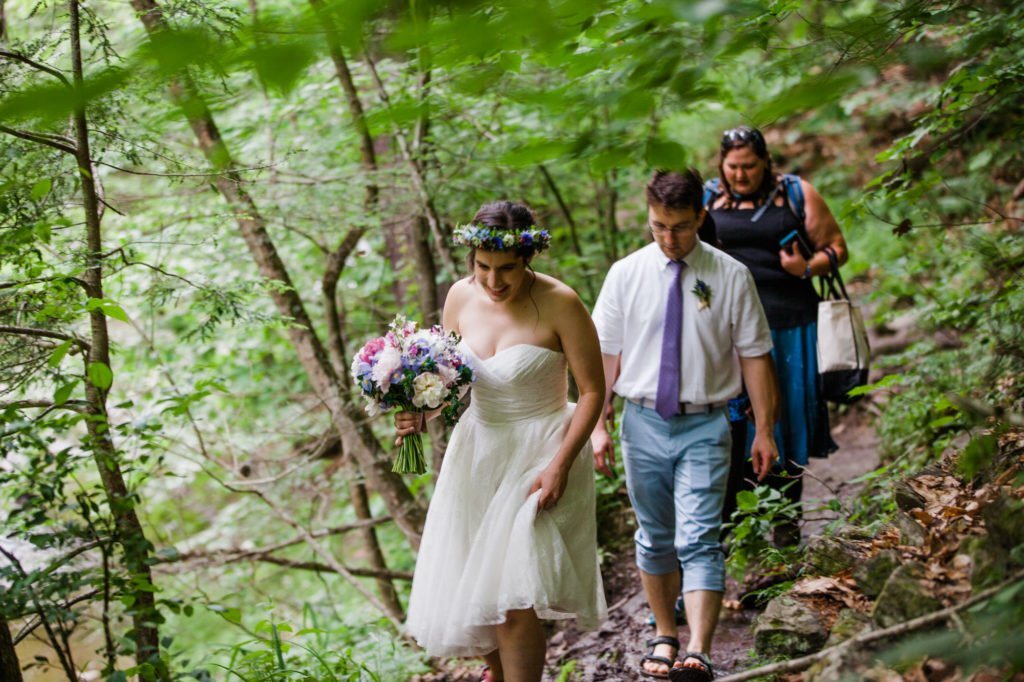Treman State Park Wedding Hike