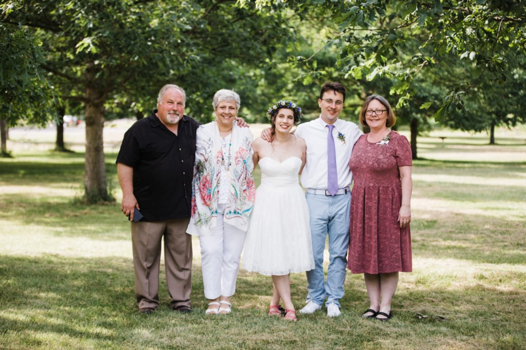 Treman State Park Wedding at North Shelter at Lower Treman State Park