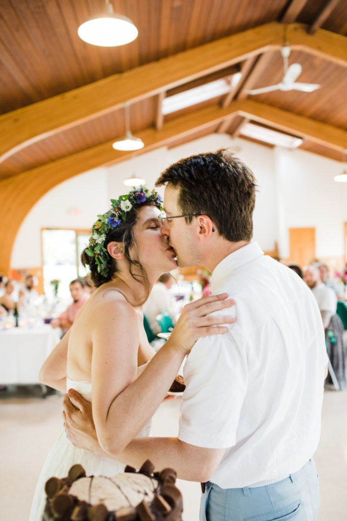 Wedding at North Shelter at Lower Treman State Park