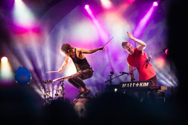 Matt and Kim @ Cayuga Sound 2018