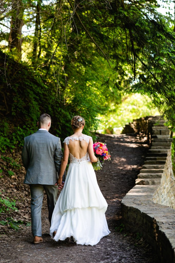 Buttermilk Falls Wedding